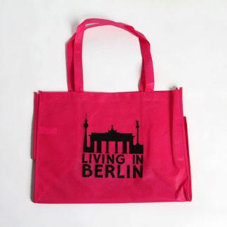 Living in Berlin Einkaufstasche Pink